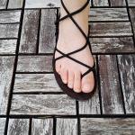 Bild: Barfuß-Sandalen