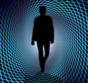 Bild: Mensch und Energiefeld