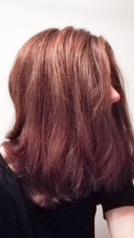 Haare nach Henna