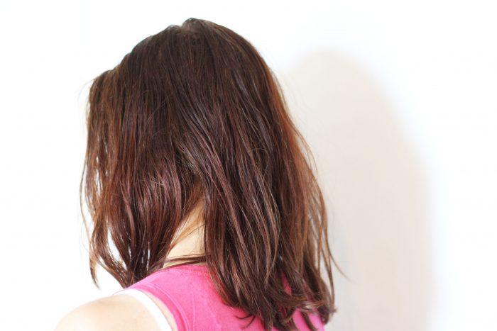 Haare während Transition