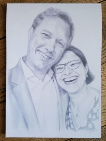 Portrait Happy Couple