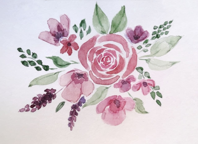 Flowers in Watercolor